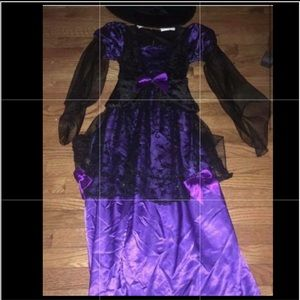 Other - Girls Witch Costume sz L